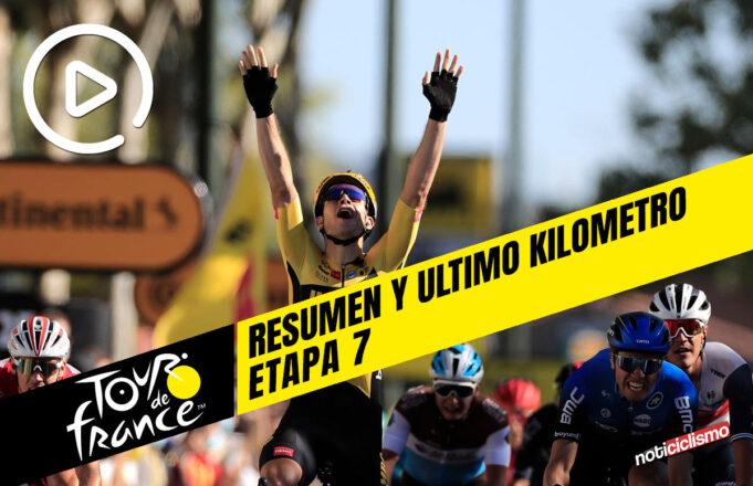 Tour de Francia 2020 (Etapa 7) Resumen y Ultimo Kilometro