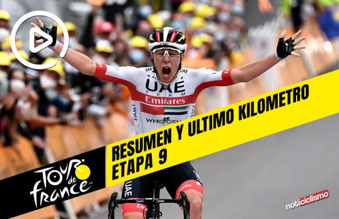 Tour de Francia 2020 (Etapa 9) Resumen y Ultimo Kilometro