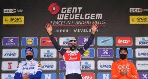 Gent-Wevelgem 2020 - Pódium
