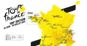Recorrido del del Tour de Francia 2021