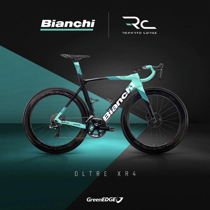 Bianchi Oltre XR4 GreenEDGE