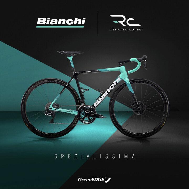 Bianchi Specialissima GreenEDGE
