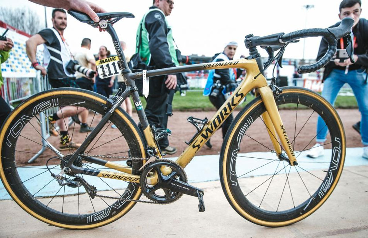 Peter Sagan Specialized S-Works Roubaix