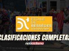 Etoile de Bessèges 2021 - Clasificaciones Completas