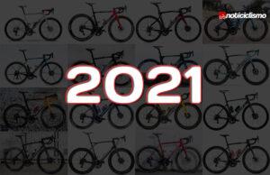 Todas las Bicicletas de los Equipos WorldTour 2021