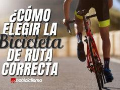 ¿Cómo elegir la bicicleta de ruta correcta?
