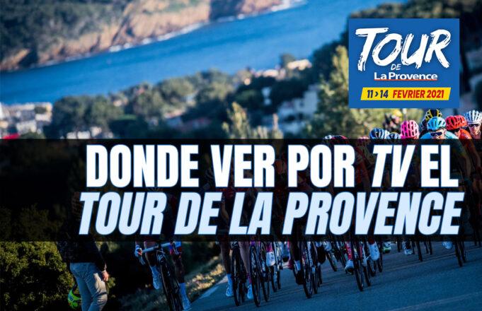 Donde ver por TV el Tour de La Provence 2021