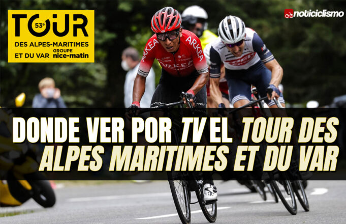 Donde ver por TV el Tour des Alpes Maritimes et du Var