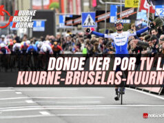 Donde ver por TV la Kuurne-Bruselas-Kuurne