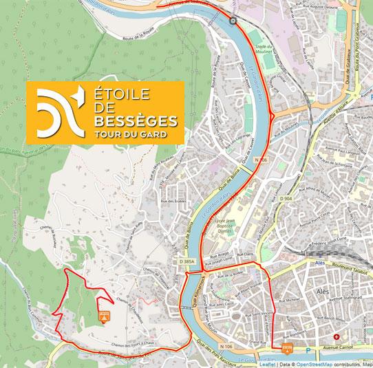 Etoile de Bessèges 2021 - Recorrido Etapa 5