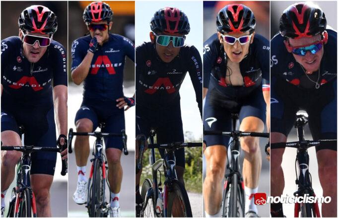 Ineos Grenadiers para las Grandes Vueltas en 2021