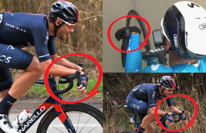 Los ciclistas se adaptan para evadir las nuevas normas de la UCI sobre las posiciones aerodinámicas