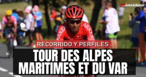 Tour des Alpes Maritimes et du Var 2021 - Recorrido y Perfiles