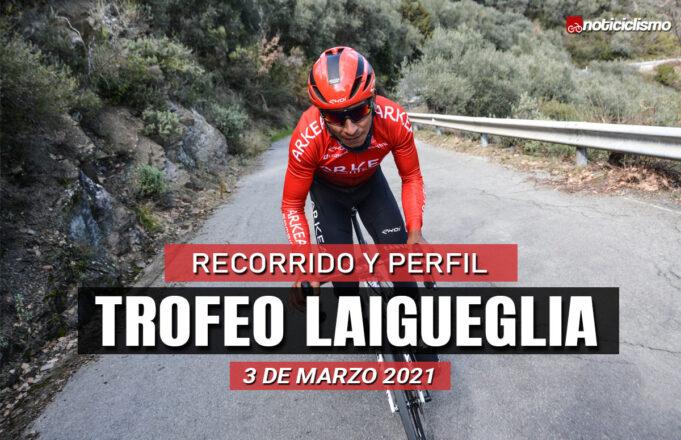 Trofeo Laigueglia 2021 – Recorrido y Perfil
