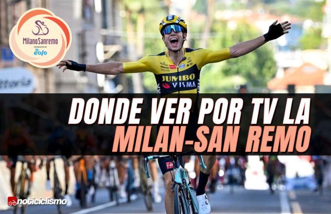 Donde ver por TV la Milán-San Remo