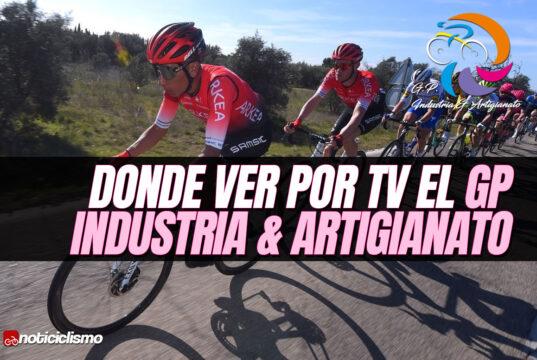 Donde ver por TV el GP Industria & Artigianato
