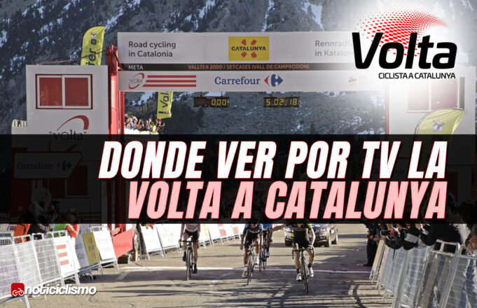 Donde ver por TV a Volta a Catalunya