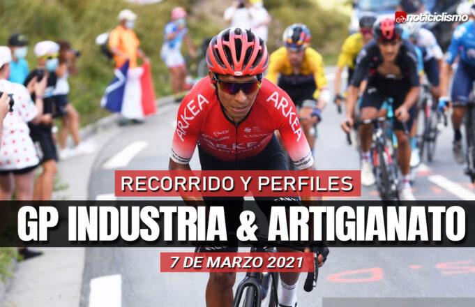 GP Industria & Artigianato 2021 – Recorrido y Perfil