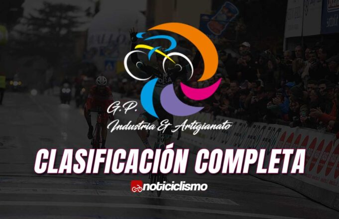 GP Industria & Artigianato - Clasificación Completa