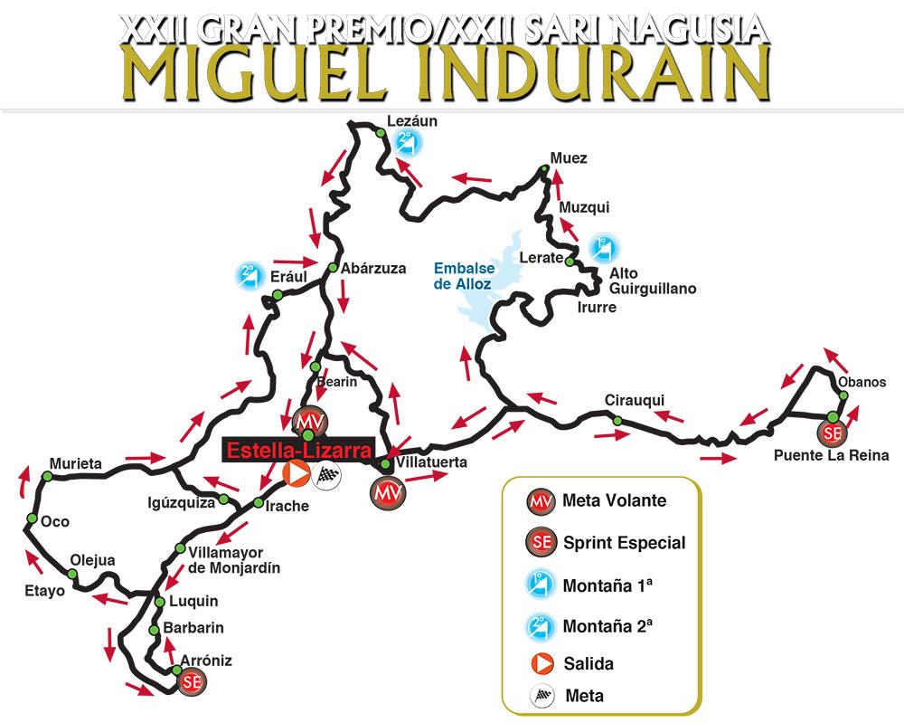 GP Miguel Indurain 2021 - Recorrido