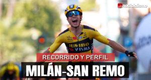Milán-Sam Remo 2021 – Recorrido y Perfil