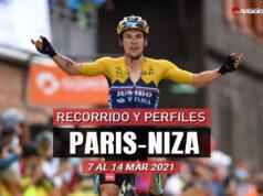 Paris-Niza 2021 – Recorrido y Perfiles