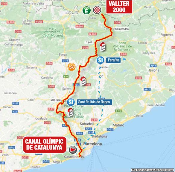 Volta a Catalunya 2021 (Etapa 3) Recorrido