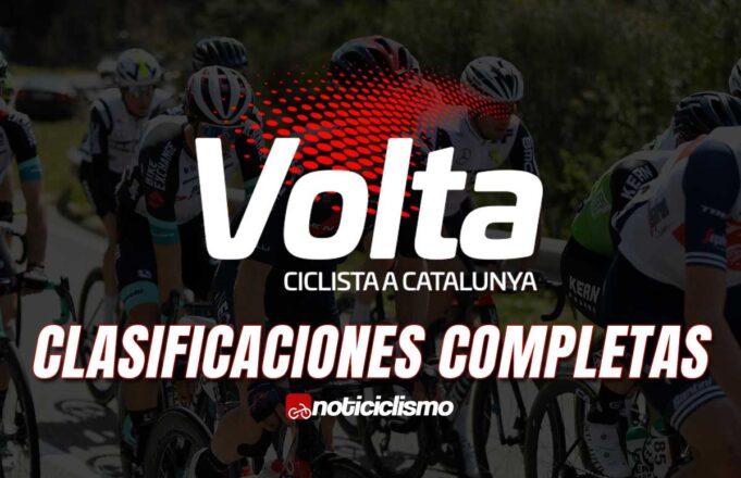 Volta a Catalunya - Clasificaciones Completas