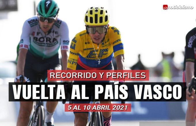 Vuelta al País Vasco 2021 – Recorrido y Etapas
