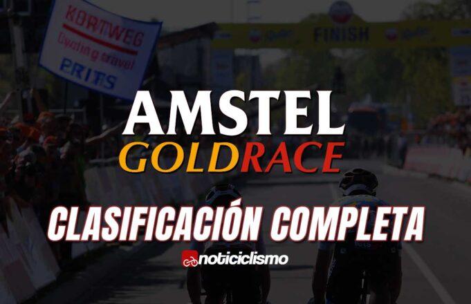 Amstel Gold Race - Clasificación Completa