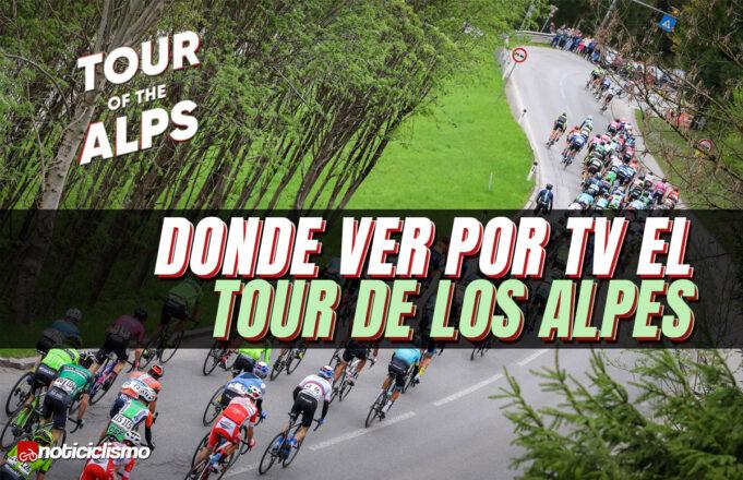 Donde ver por TV el Tour de los Alpes