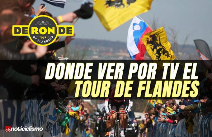 Donde ver por TV el Tour de Flandes