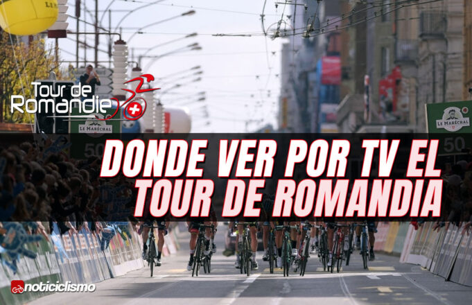 Donde ver por TV el Tour de Romandía