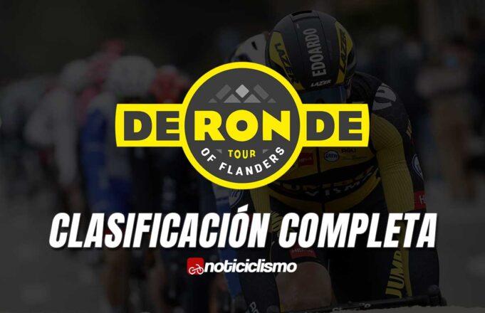 Tour de Flandes - Clasificación Completa