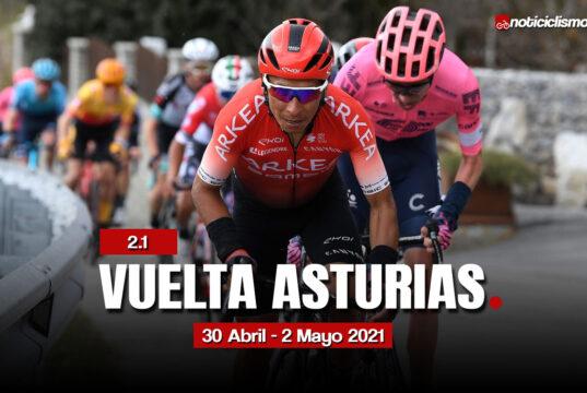 Vuelta Asturias 2021 – Recorrido y Perfiles