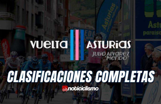 Vuelta Asturias - Clasificaciones Completas