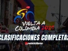 Vuelta a Colombia - Clasificaciones Completas
