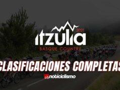 Vuelta al País Vasco - Clasificaciones Completas