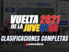 Vuelta de la Juventud - Clasificaciones Completas