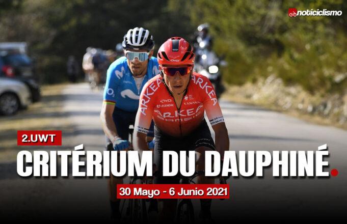 Critérium du Dauphiné 2021 – Recorrido y Perfiles