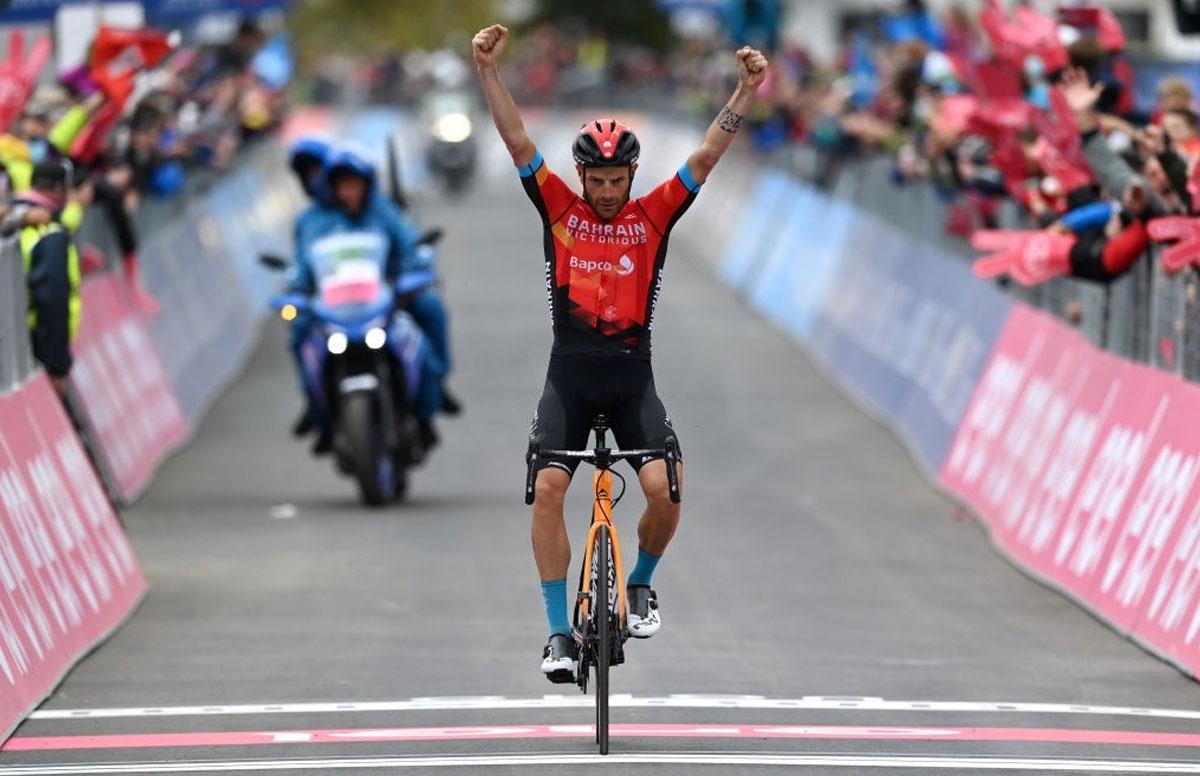 Damiano Caruso (Bahrain Victorious)
