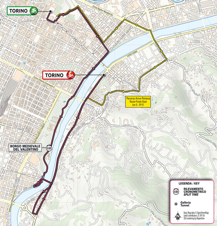 Giro de Italia 2021 - Etapa 1 - Recorrido