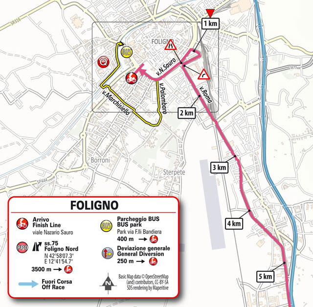 Giro de Italia 2021 - Etapa 10 - Últimos kilómetros