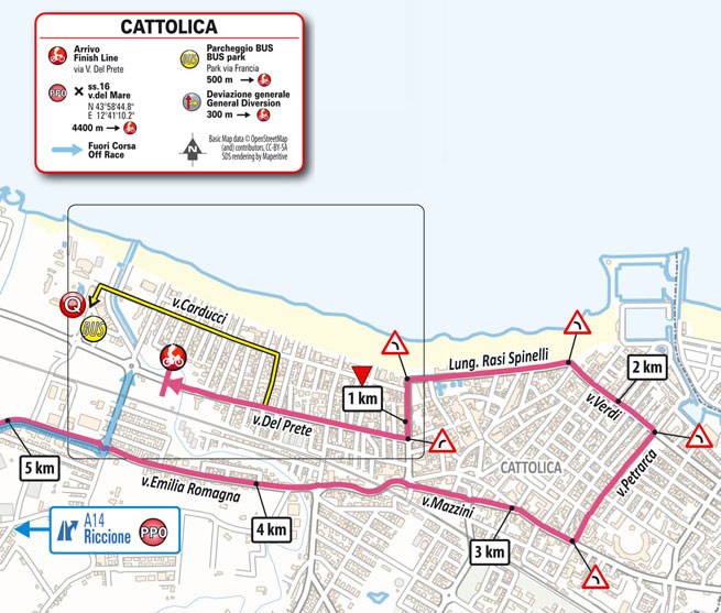 Giro de Italia 2021 - Etapa 5 - Últimos kilómetros