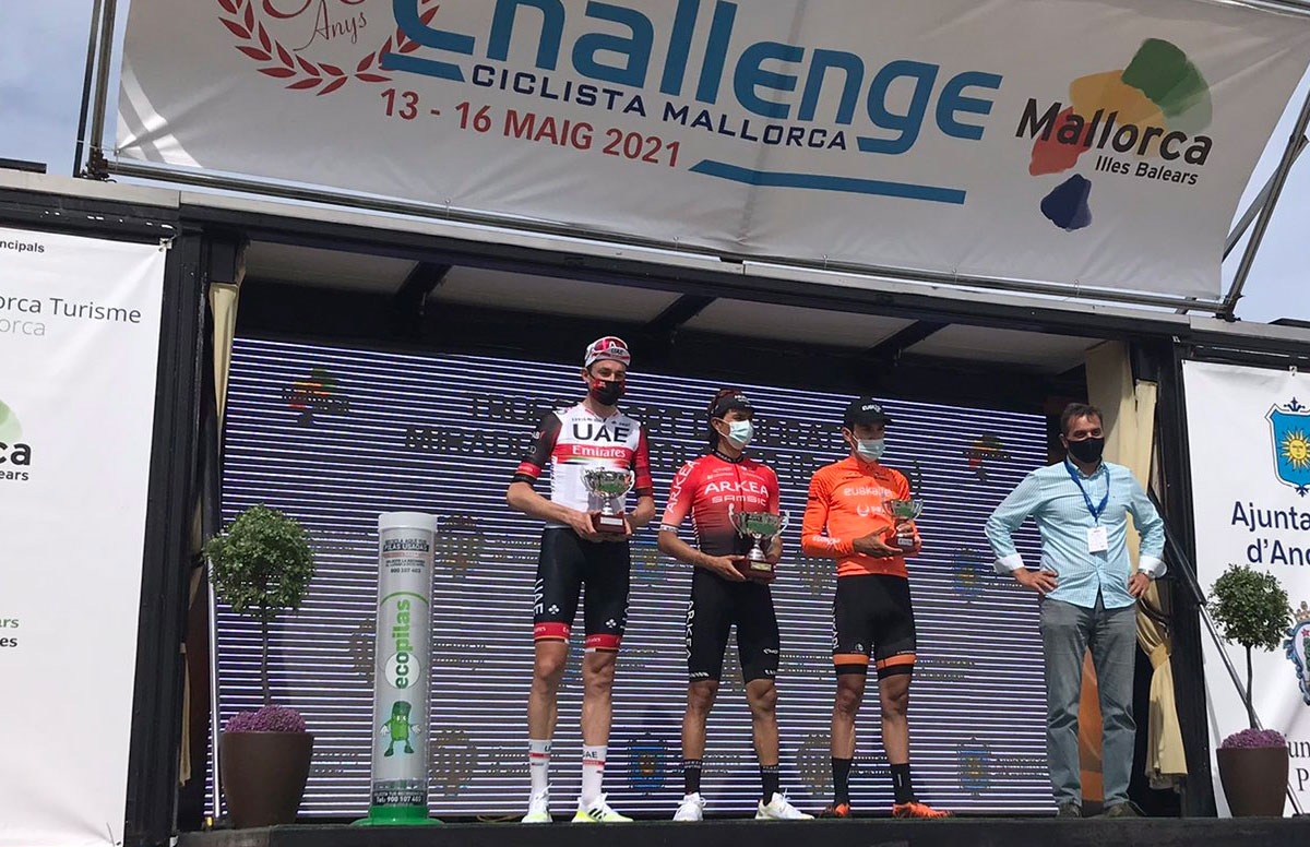 Pódium final del Trofeo Andratx - Challenge de Mallorca 2021