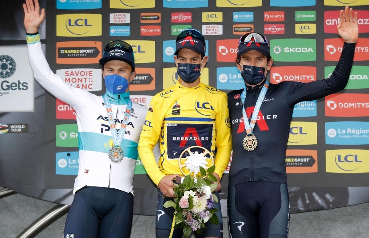 Critérium du Dauphiné 2021 - Pódium Final