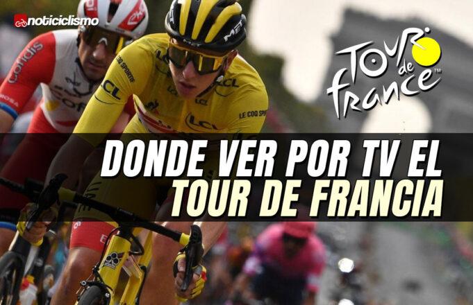 Donde ver por TV el Tour de Francia