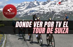 Donde ver por TV el Tour de Suiza