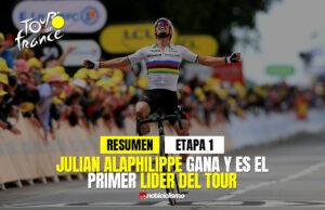 Tour de Francia 2021 (Etapa 1) Resumen y Ultimo Kilometro