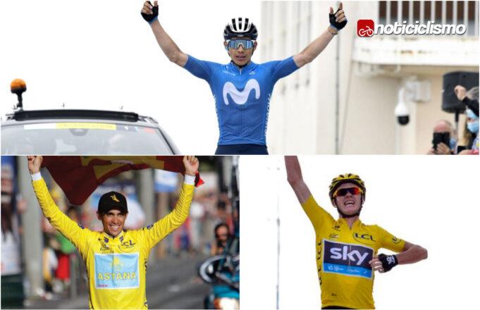 Miguel Ángel López mejora los tiempos de Froome y Contador en la subida al Mont Ventoux